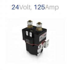 Contactor SW80-357P, 24V Coil 125A, (IP66)